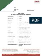 First Report - F M S A.pdf