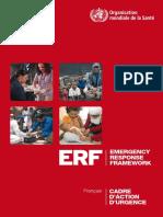 cadre d'urgence