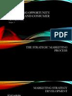 Marketing opportunity analysis and consumer analysis