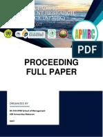 PROCEEDING THE 1ST APMRC.pdf