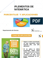 S04 COMMA NEG 2019 1 Porcentajes y Sus Aplicaciones