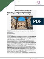Uniurb individua meccanismo che contrasta il Covid - Centropagina.it, 20 novembre 2020