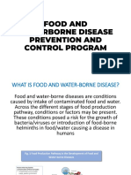 FOOD AND WATERBORNE DISEASE PREVENTION AND CONTROL PROGRAM