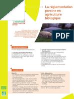 Reglementation porcs
