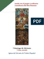 I Domingo de Adviento. Propio y Ordinario de la santa misa