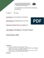 RODRIGUEZGERARDO TRABAJO CLASE N°7 ECONOMÍA POLITICA