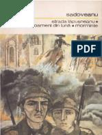 Mihail Sadoveanu - Strada Lăpușneanu. Oameni Din Lună. Morminte
