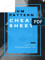 Drum Programming Cheat Sheet PDF