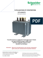 User Manual - Minera Distribution Transformer (french)