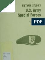 Vietnam Studies U.S. Army Special Forces 1961-1971