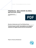 Technical report on SS7 vulnerabilities and mitigation measures for digital financial services transactions