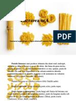 Analiza Organoleptica Si Fizico-chimica Pastelor Fainoase
