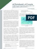 Enfermedad Periodontal y Corazón (ZERÓN 2007)