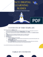 Space Digital Learning Slides by Slidesgo