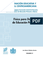 Física para docentes de educación primaria