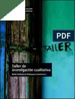 Taller de investigación cualitativa (MATERIAL)