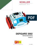 Schiller Defigard 2002 Defibrillator - User manual.pdf