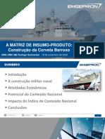Apresentação Empresa Gerencial de Projetos Navais (EMGEPRON)