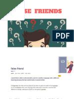 False friend -.pdf