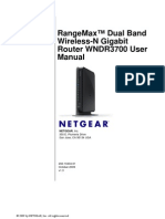 RangeMax WNDR3700 Manual