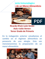 PROYECTO INMUNOLOGIA PREPARACION DE UN MENU ALIMENTICIO.pptx