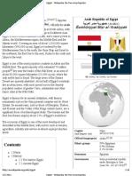 Egypt - Wikipedia, the free encyclopedia