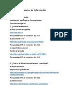 Selección de fuentes de información