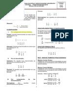Pract. 05 - Aritmetica y Álgebra