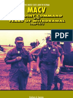 MACV the Joint Command in the Years of Withdrawal 1968-1973