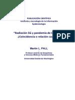 Radiación 5G y pandemia de COVID-19¿Coincidencia o relación causal