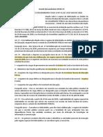 DELIBERAÇÃO DO COMITÊ EXTRAORDINÁRIO COVID-19 Nº 43, DE 13 DE MAIO DE 2020