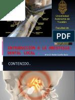 Introducción a la Anestesia Dental Local