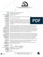 Scott County, Iowa Sustainability Agency Partnership Letter December 20, 2010