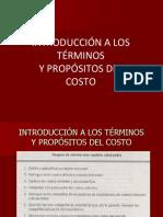 CAP2_INTROD.A LOS TERMINOS Y PROPOSITOS DEL COSTO.ppt