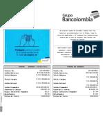 ESTRATO BANCARIO BANCOLOMBIA