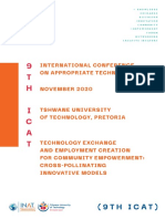 9th ICAT - Technology Exchange and Employment Creation for Community Empowerment-Cross-Pollinating Innovative Models