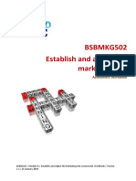 BSBMKG502 Establish and Adjust the Marketing Mix