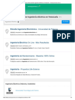 ▷ Compara dónde estudiar ingeniería eléctrica en Venezuela - Cursosycarreras.com.ve