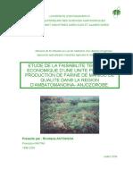 la transformation du manioc au Madagascar