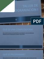 INTRODUCCIÓN TALLER DE PROGRAMACION I.pptx