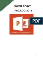 POWER POINT AVANZADO 2013