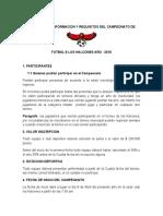 REGLAMENTO DE FUTBOL- kike sierra