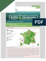 "Bulletin de veille ""Veille & Territoires"" #276"