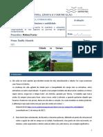 CLC_6_RA_2 - FT2 - Campo vs Cidade - Emilly Almeida - Helena F.