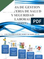 SISTEMA DE GESTION  EN MATERIA DE SALUD Y SEGURIDAD LABORAL (SSST)