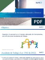 Capacitacion en Manejo de Herramientas Manuales y Electricas