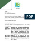 sistematización Formato Rol de evaluador de proyecto