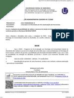 SEI_UFU - 2195340 - Decisão Administrativa Processo seletivo