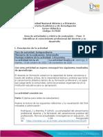 Guia de actividades y Rúbrica de evaluación - Unidad 2 - Paso  3 -  Identificar el conocimiento profesional del docente y su desarrollo