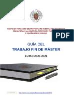 TFM UCM Guía realización 2020-2021